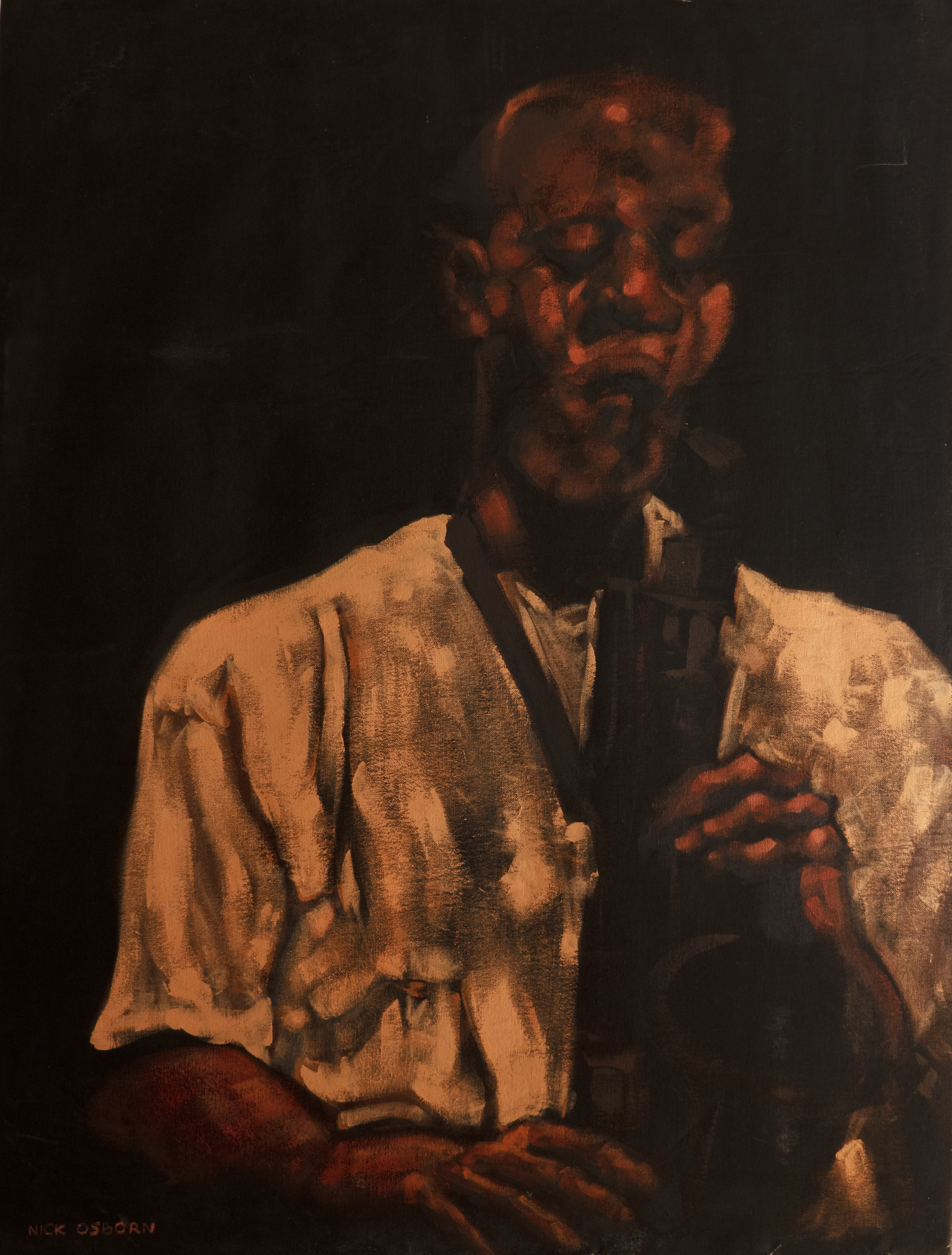 Painting Sax Player 2005