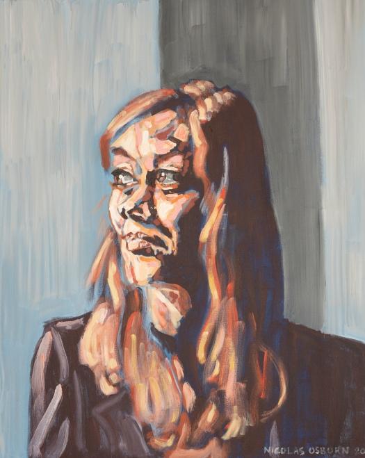 Femme au Bord de Fenêtre Painting Nicolas Osborn