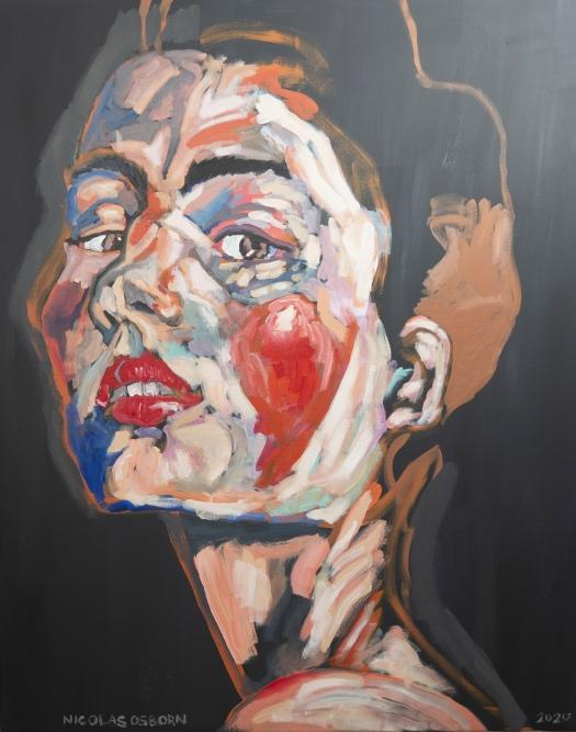 Jeune Femme au Regard Painting Nicolas Osborn